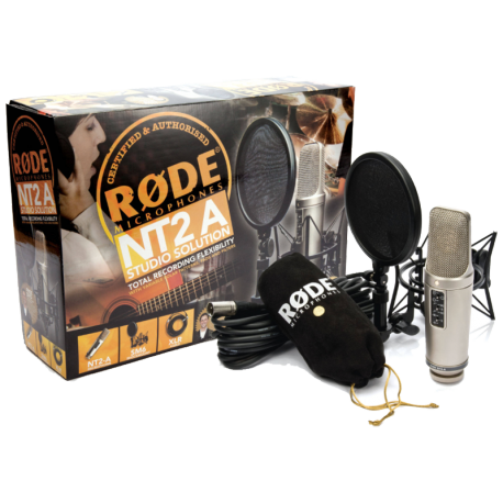 MICROPHONE RODE NT2-A STUDIO SOLUTION