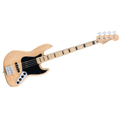 FENDER JAZZ BASS DELUXE ACTIVE ASH NATUREL