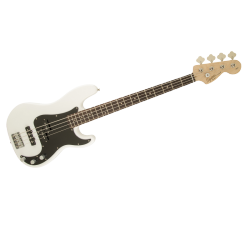 SQUIER PRECISION BASS AFFINITY - RW OLYMPIC WHITE