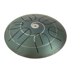 "RAMMERDRUM TONGUE DRUM 9"" LONIAN 2D GENERATION"