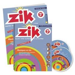 FUZEAU 7702 - COFFRET ZIK 5E