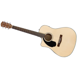 FENDER CD-60SCE LH NATURAL