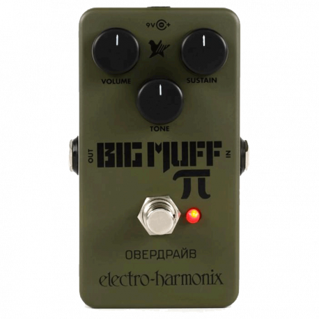 ELECTRO HARMONIX - GREEN RUSSIAN BIG MUFF