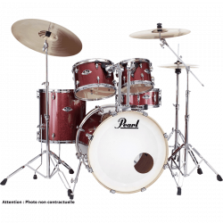 "PEARL EXX725BRC-704 - EXPORT ROCK 22"" BLACK CHERRY GLITTER"