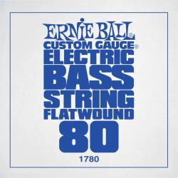 ERNIE BALL 1780 CUSTOM GAUGE FLATWOUND 080