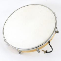 FUZEAU TAMBOURIN PEAU SYNTHETIQUE 25 CM