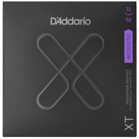D'ADDARIO XTAPB1152 - CUSTOM LIGHT