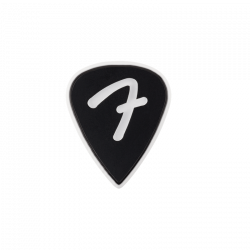 FENDER F-GRIP 351 PICKS NOIR LOT DE 3