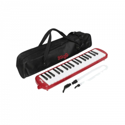 STAGG MELOSTA37 - CHROMATIQUE MELODICA ROUGE