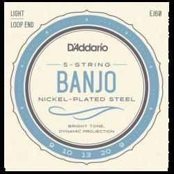 D'ADDARIO EJ60 - CORDES POUR BANJO