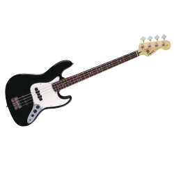 SQUIER AFFINITY JAZZ BASS RW BLACK