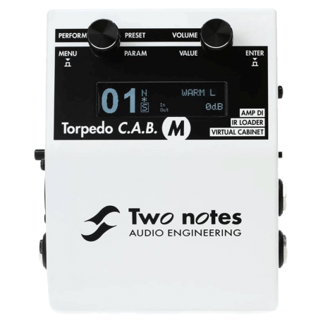 TWO NOTES TORPEDO C.A.B. M+