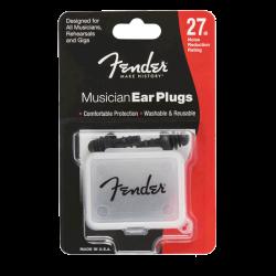 FENDER MUSICIAN EAR PLUGS BOUCHON D'OREILLES REUTILISABLES