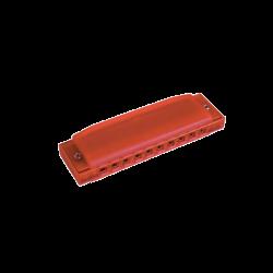 HOHNER - HARMONICA EN PLASTIQUE HAPPY RED M5154