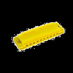 HOHNER - HARMONICA EN PLASTIQUE HAPPY YELLOW M5151
