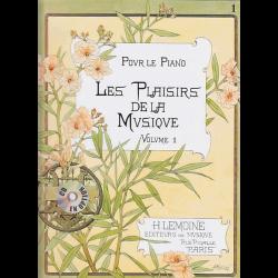 METHODE H.LEMOINE LES PLAISIRS DE LA MUSIQUE VOLUME 1A- POUR PIANO