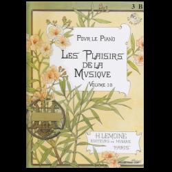 METHODE H.LEMOINE LES PLAISIRS DE LA MUSIQUE VOLUME 3B- POUR PIANO