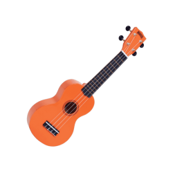 MAHALO - GMH MR1-OR Ukulélé Soprano orange brillant + housse