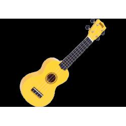 MAHALO - GMH MR1-YW Ukulélé Soprano jaune brillant + housse