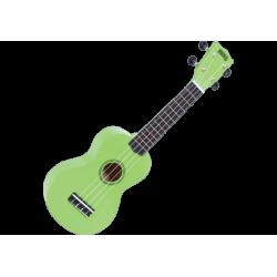 MAHALO - GMH MR1-GN Ukulélé Soprano vert brillant + housse