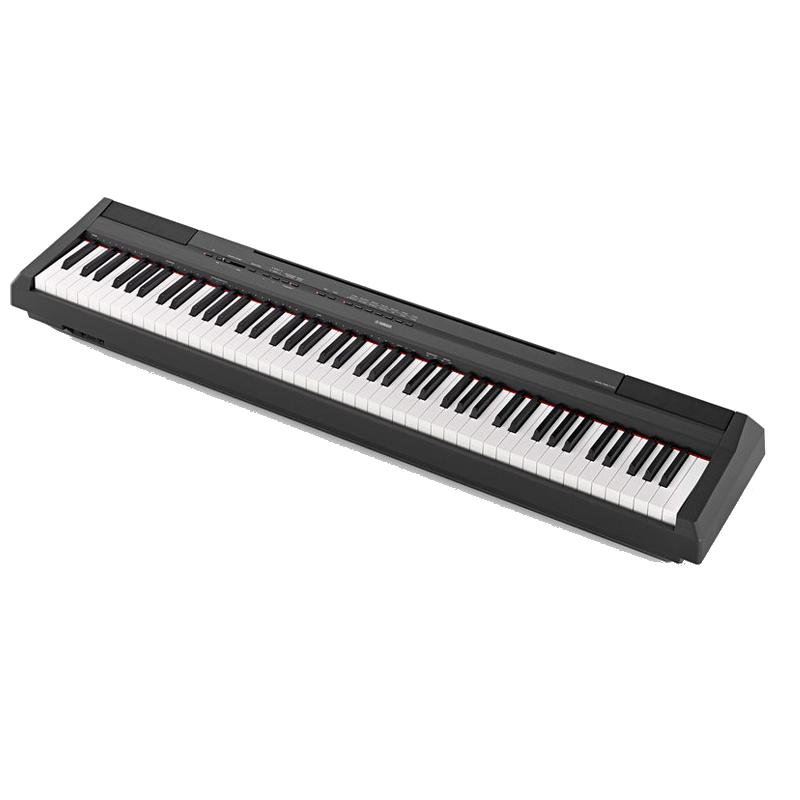 yamaha p 115 b noir scotto musique. Black Bedroom Furniture Sets. Home Design Ideas