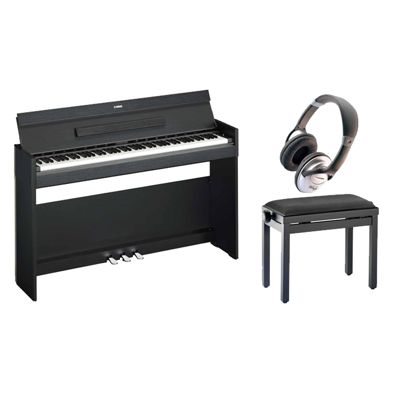 yamaha arius ydp s52 b noyer noir pack scotto musique. Black Bedroom Furniture Sets. Home Design Ideas