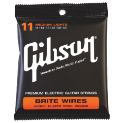 GIBSON SEG-700ML - BRITE WIRES 11-50