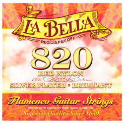 LA BELLA 820 FLAMENCO NYLON ROUGE