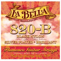 LA BELLA 820B FLAMENCO NYLON NOIR