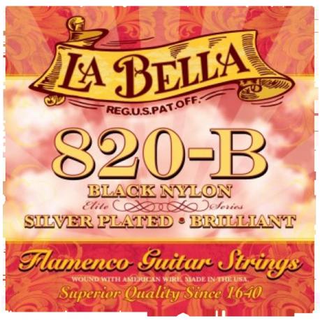 LA BELLA 820B FLAMENCO NYLON NOIR