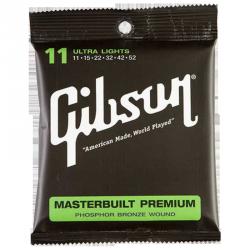 GIBSON SAG-MB11 - MASTERBUILT PREMIUM PHOSPHOR BRONZE - 11-52