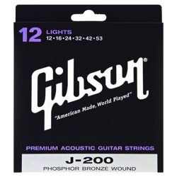 GIBSON SAG-J200L - PHOSPHORE BRONZE - LIGHT 12-53
