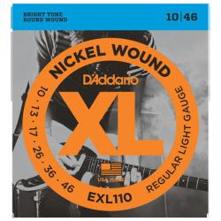 D'ADDARIO EXL110 - REGULAR LIGHT 10-46