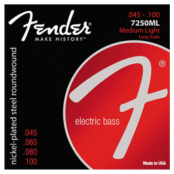 FENDER 7250ML - MEDIUM LIGHT 45-100