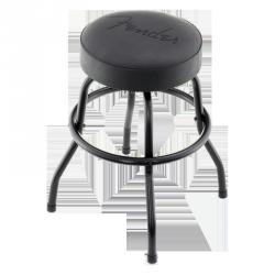 "FENDER BAR STOOL 24"" - LOGO BLACK"