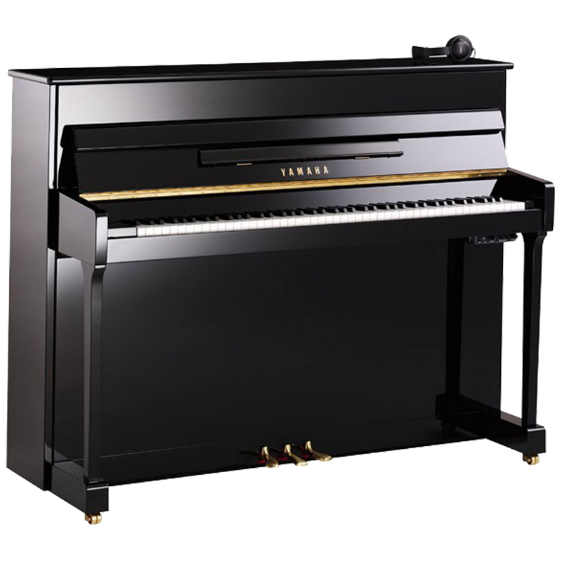 yamaha p116mshpe noir brillant silent scotto musique. Black Bedroom Furniture Sets. Home Design Ideas