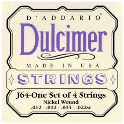 D'ADDARIO J64 - CORDES POUR DULCIMER