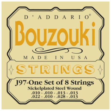 CORDES D'ADDARIO J97 - CORDE POUR BOUZOUKI