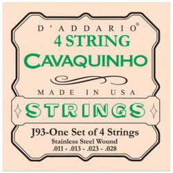 D'ADDARIO J93 - CORDES POUR CAVAQUINHO