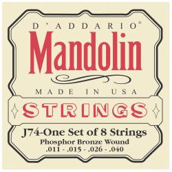 D'ADDARIO J74 - CORDES POUR MANDOLINE