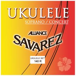 SAVAREZ 140R - CORDES POUR UKULELE SOPRANO FORMAT CONCERT