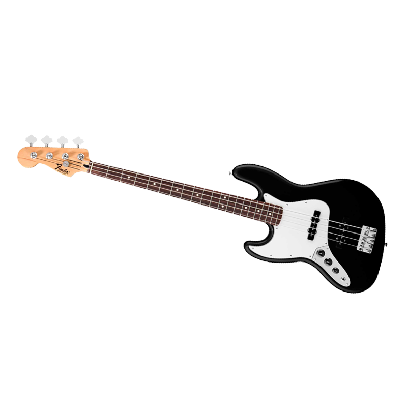 fender jazz bass standard lh rw bk scotto musique. Black Bedroom Furniture Sets. Home Design Ideas