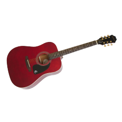 EPIPHONE DR-100 WINE RED