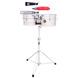 LATIN PERCUSSION TITO PUENTE LP272-S - ACIER