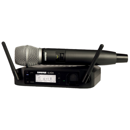 MICROPHONE SHURE GLXD24E-SM86