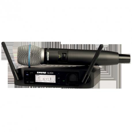 MICROPHONE SHURE GLXD24E B87A