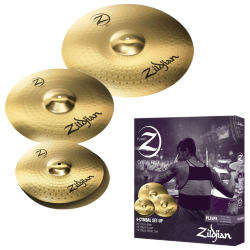 ZILDJIAN PLZ4PK PLANET Z SET