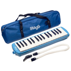 STAGG MELOSTA32 - CHROMATIQUE MELODICA BLUE