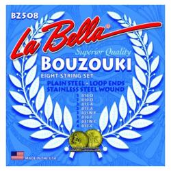 LA BELLA - BZ508 CORDES POUR BOUZOUKI
