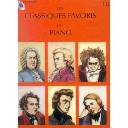 MÉTHODES LEMOINE LES CLASSIQUES FAVORIS DU PIANO, VOLUME 1B